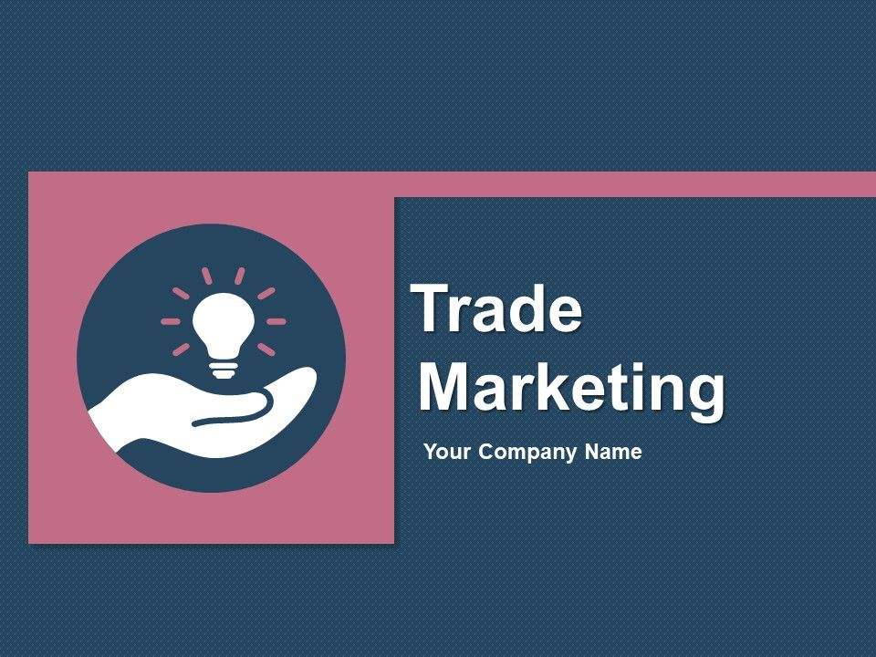 Trade Marketing Template 1