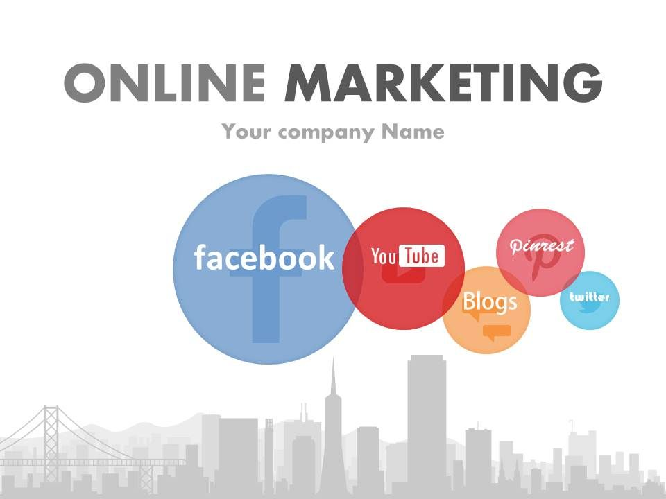 Online Marketing Template 5