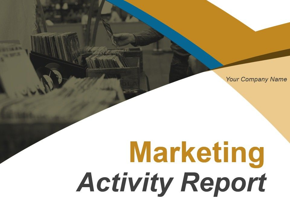 Marketing Activity Report Template 8