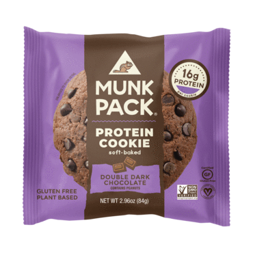 Invest in protein chocolate chip cookies for healthy munching options!