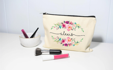 Essentials To Keep In Your Personalised Cosmetic Bags